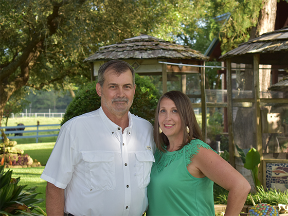 Jeff Bartee and Kimberly from Bartee Inspections